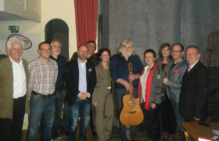 Liedermacher Sepp Raith